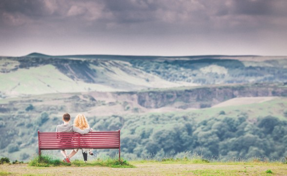 Grace + Ross — Haslingden Halo, Greater Manchester engagement photography