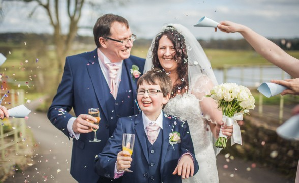 Helen + Steve — The Ashes Barns, Stoke-on-Trent wedding photography