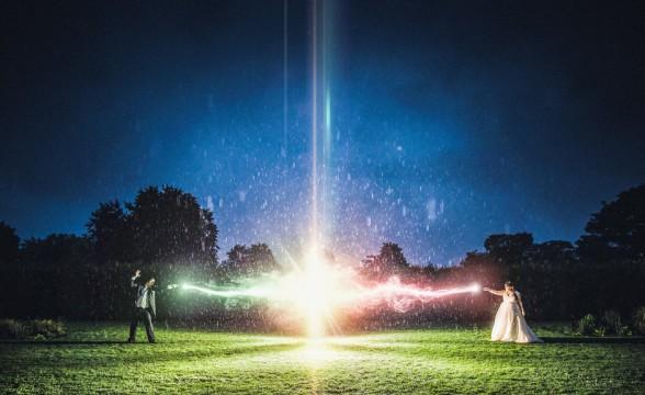 Kim + Jon — Harry Potter wedding, Wedding photography in Manchester