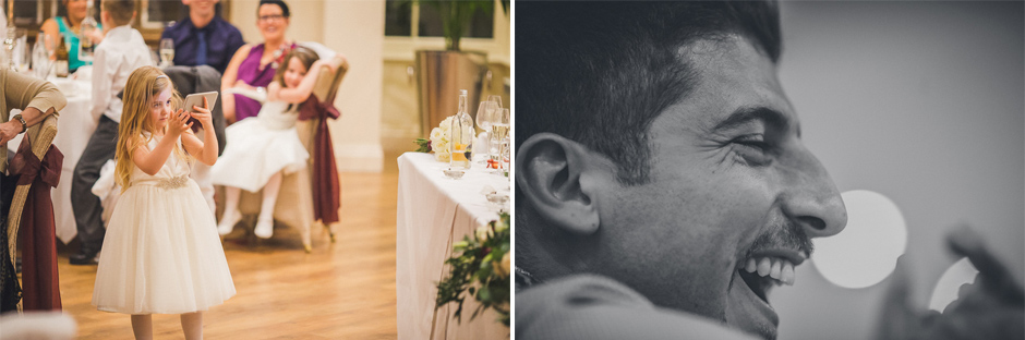 52 wedding audience laughting