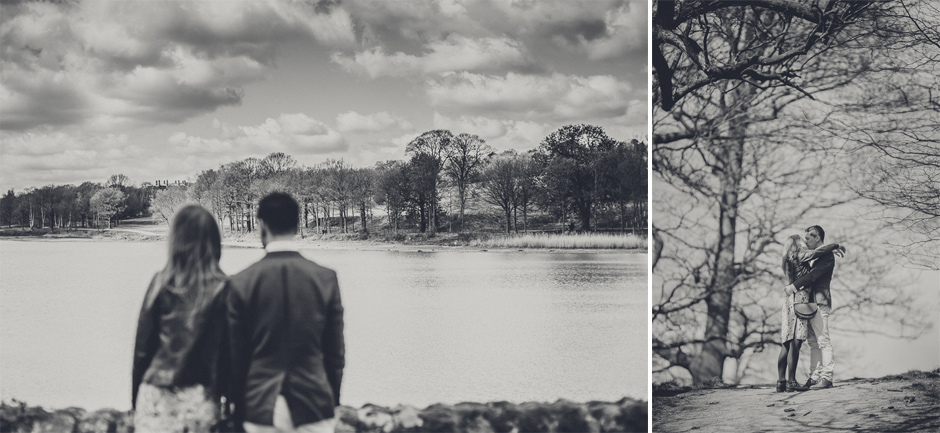 Yorkshire engagement photography