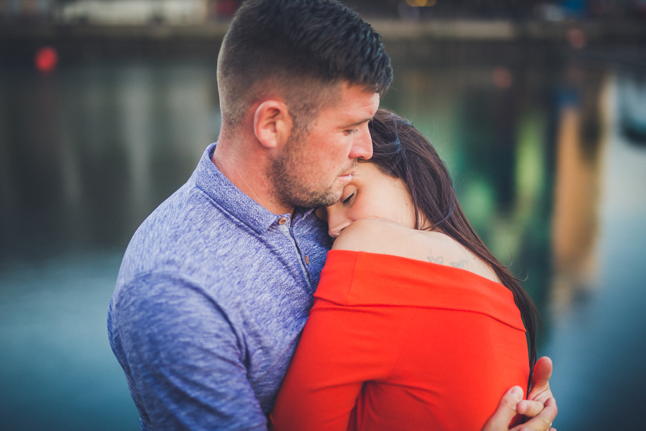 Salford Quays engagement photographer