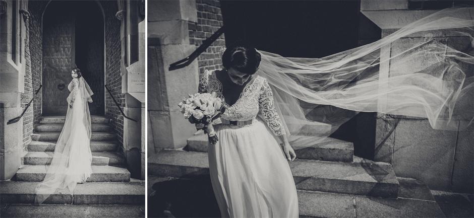 29 bride dress long train