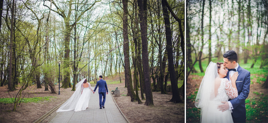 40 Park Strzelecki wedding photo session