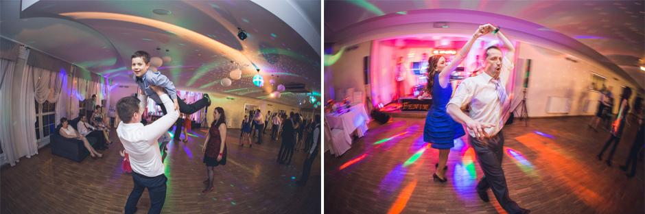 63 wedding guests dancing