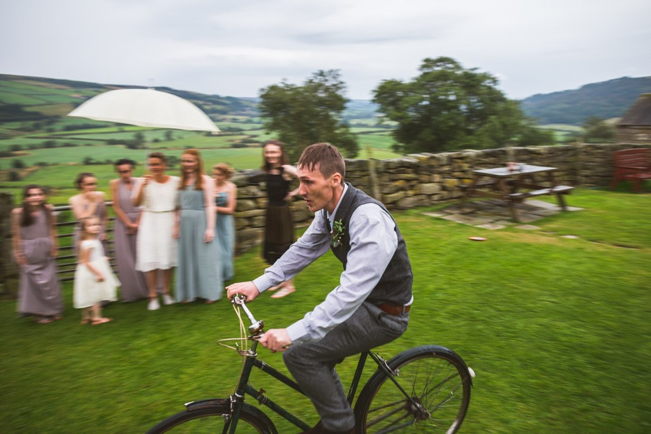 Mick + Emma - Danby Castle wedding, Les Walas photography