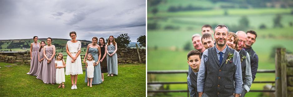 Mick + Emma - Danby Castle wedding, Les Walas photography